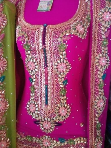 Hand Embroidered Dress Collection Online Dukan Aap Ki Apni Dukan